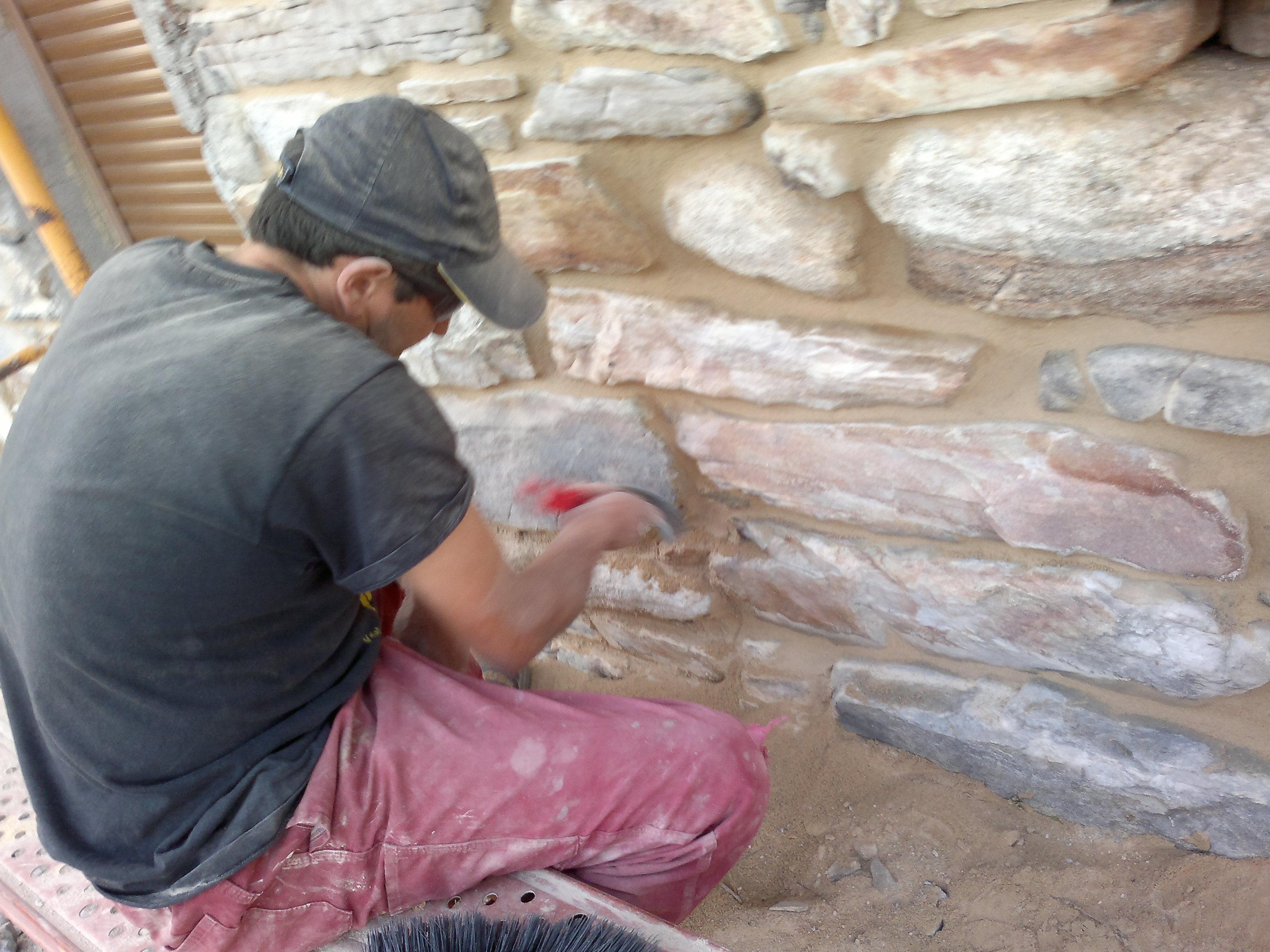 Rejuntado de piedra - Soluciones para paredes con humedad ...